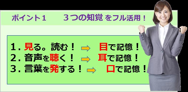 3知覚フル活用