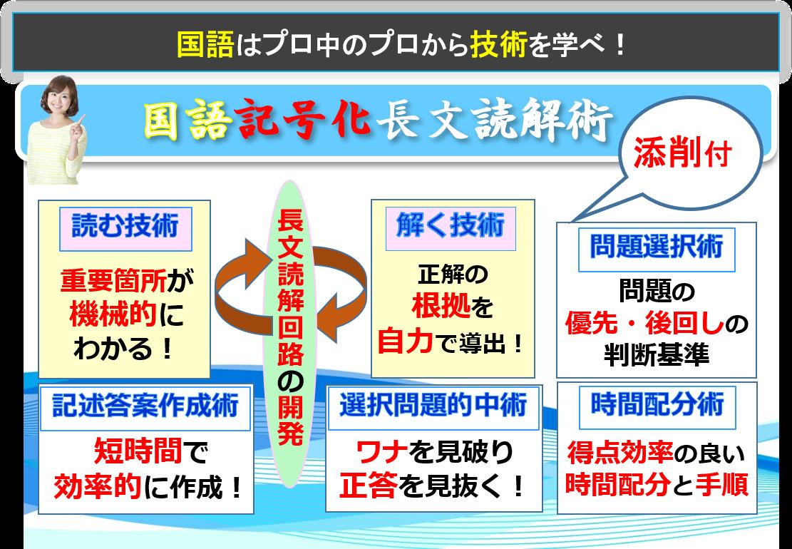 国語記号化長文読解術