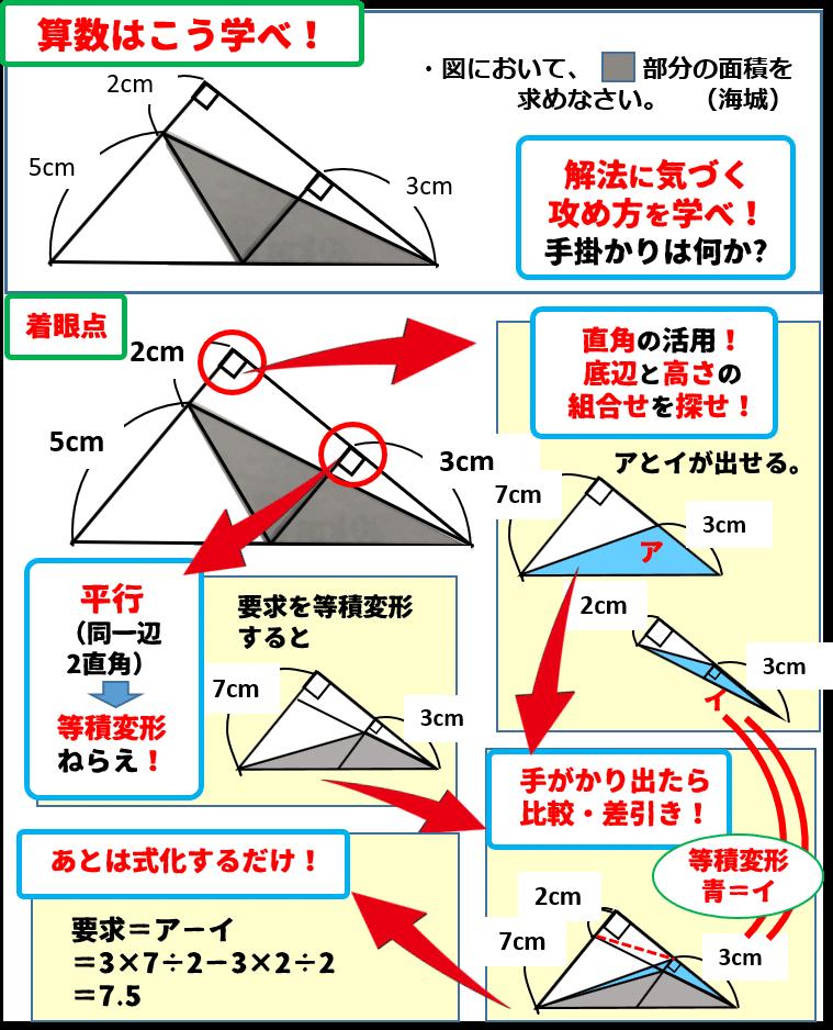 道具た戦略の算数講座 解答例