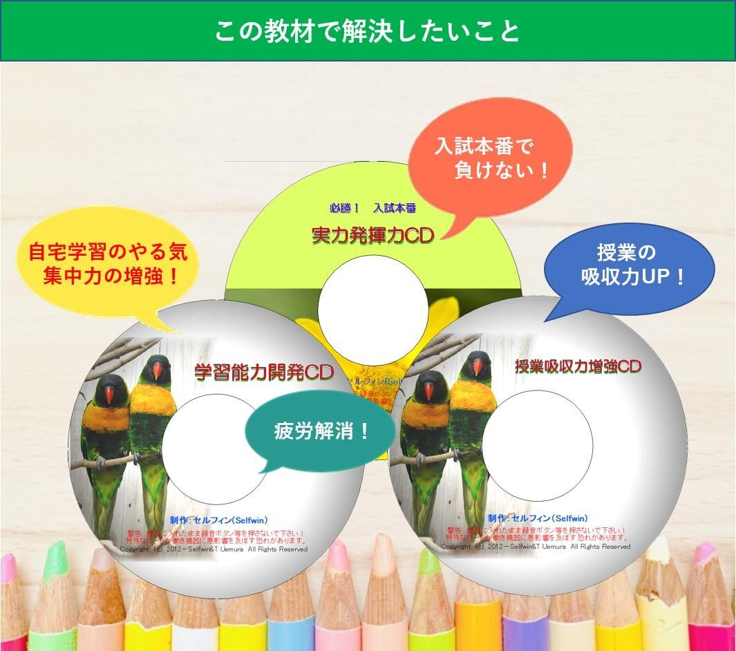 中学受験 潜在能力開発CDの効果