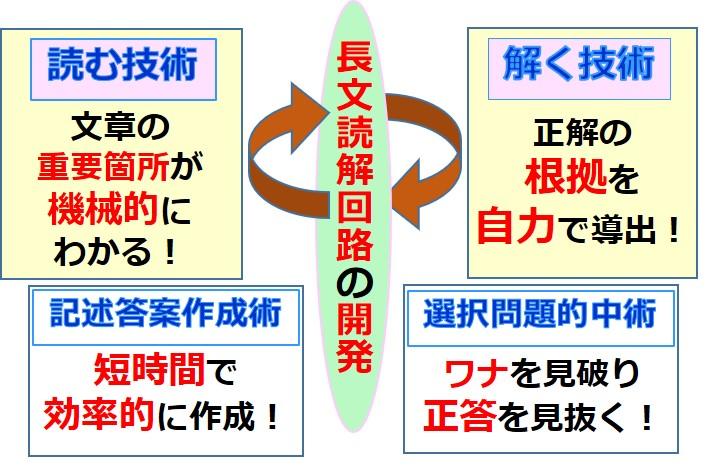 国語記号化長文読解術 読解脳の育成